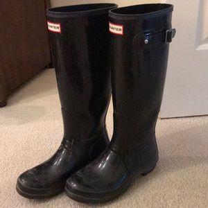Hunter ran boots